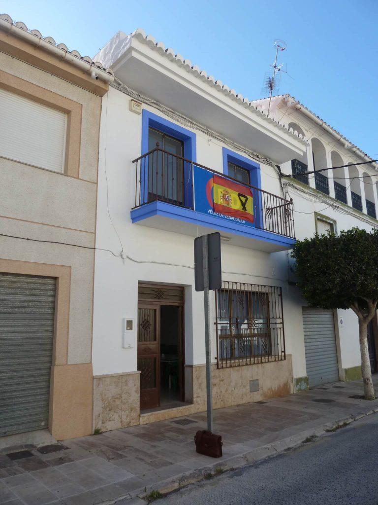 2020 Declaración de obra nueva, Casa Vélez de Benaudalla